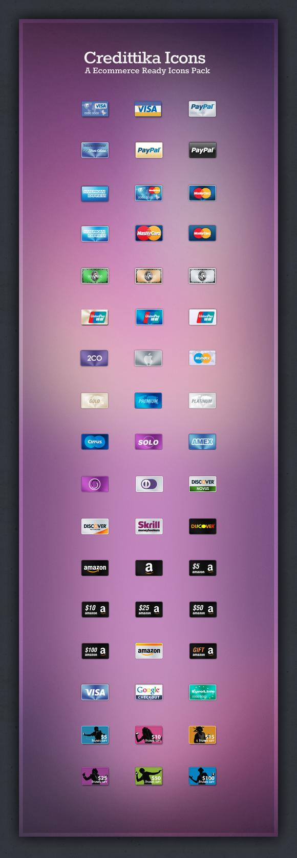 Credittika Ecommerce Icons
