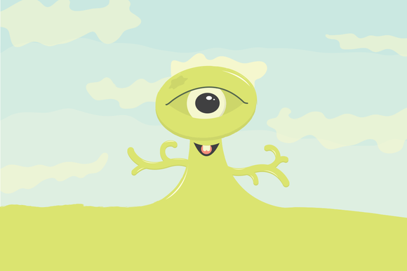 Frank The One-Eyed Land Monster