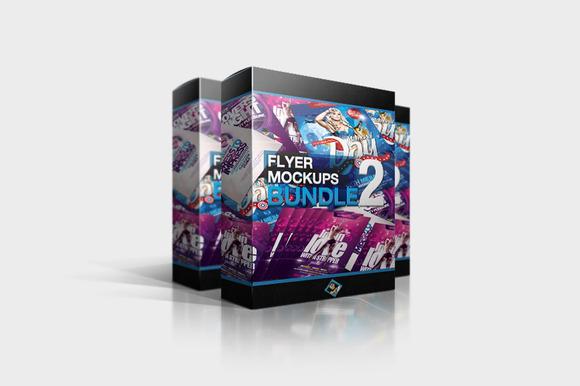 Flyer Mockups Bundle 02