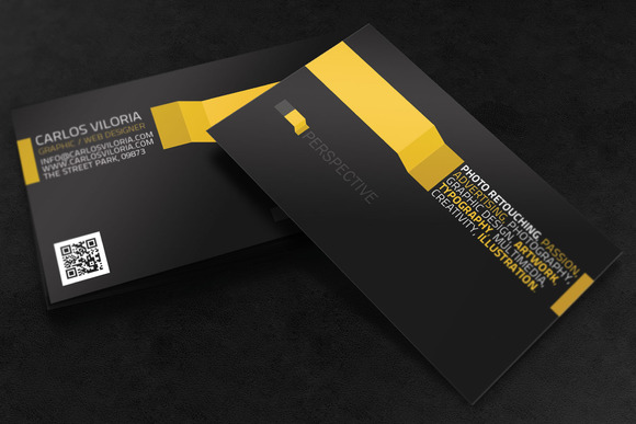 Business Card Perspective