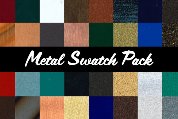 Metal Swatch Pack