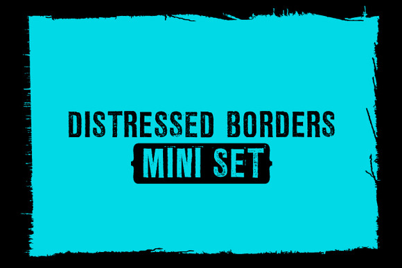 Distressed Borders {Mini Set}
