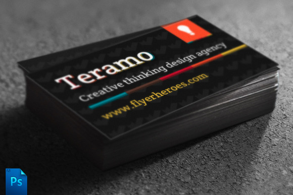 Teramo Creative Business Card