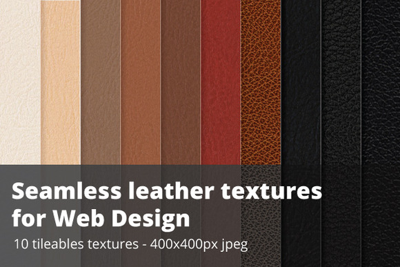 Seamless Leather Swatches Jpg Illustrator