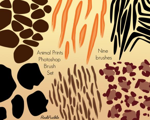 Animal Prints Photoshop Brushes