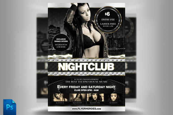 Nightclub Flyer Template II