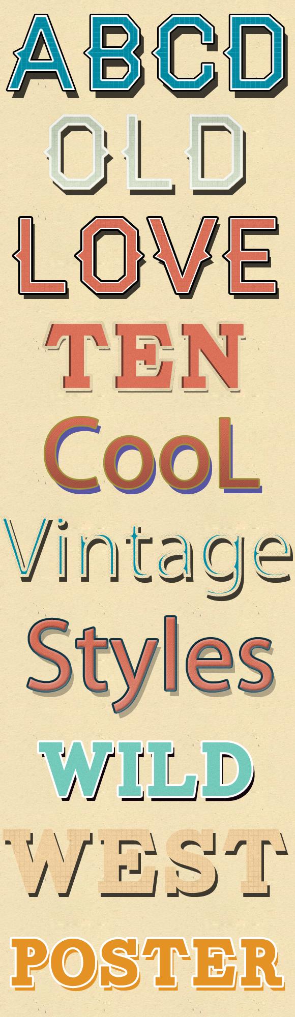 10 Vintage Styles