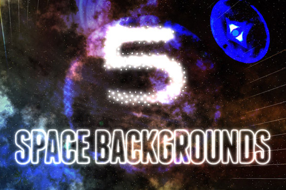 5 Ethereal Space Backgrounds