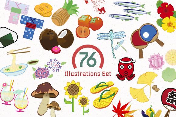 76 Illustrations Cliparts