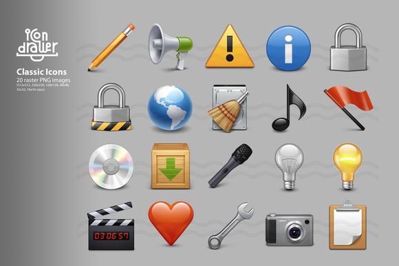 Classic Icons