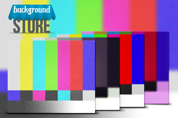 Television Screen Background
