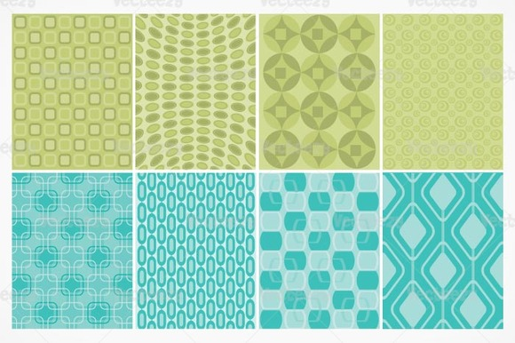 Seamless Retro Vector Patterns