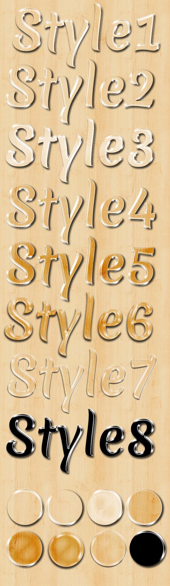 8 Glassy Styles