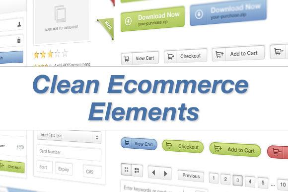 Clean Ecommerce Elements