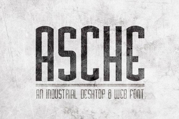 Asche Font
