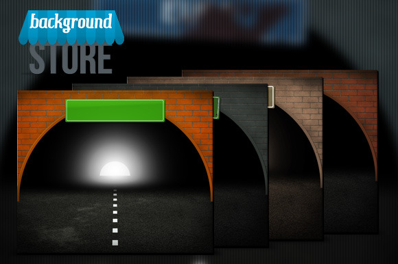 Tunel Background