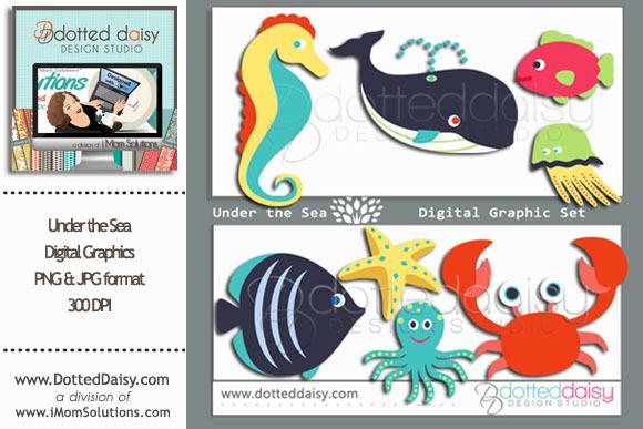 Under The Sea Digital Graphics