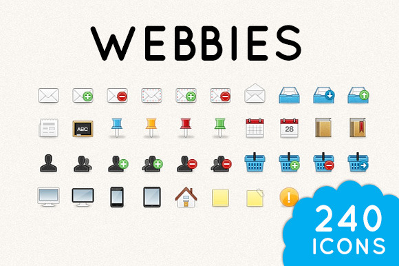 Webbies 32px Icon Set