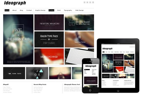 Ideograph Responsive WordPress Theme