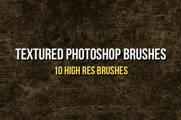 Textured Photoshop Brushes