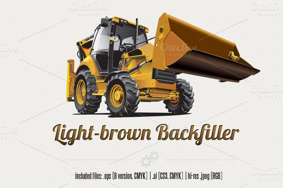 Light-brown Backfiller