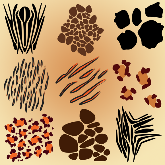 Animal Print Vectors And Clipart