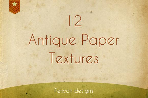 Antique Paper Texture Pack