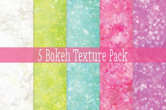 5 Bokeh Texture Pack
