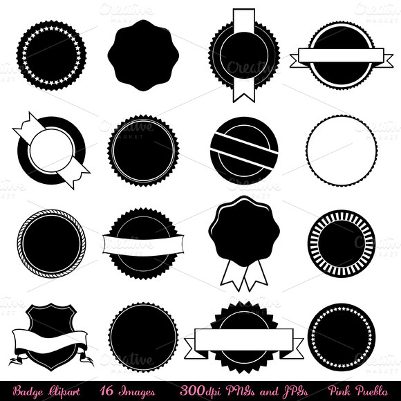 Badge Vectors And Clipart