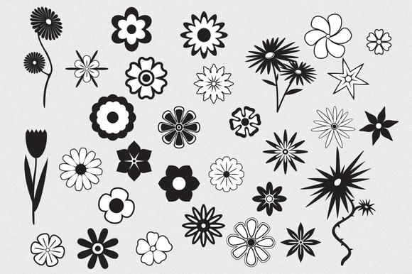 Flowers Vector Pack