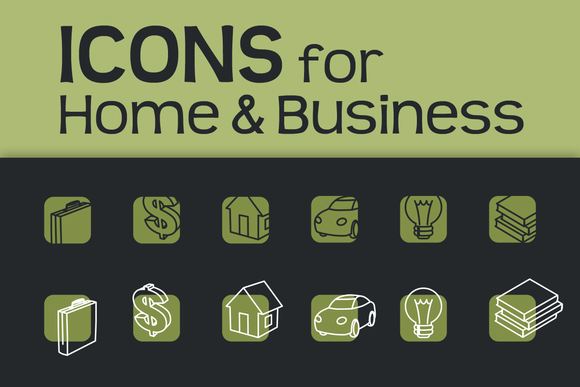 Icons For Business Home