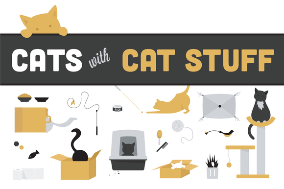 Cats And Cat Stuff