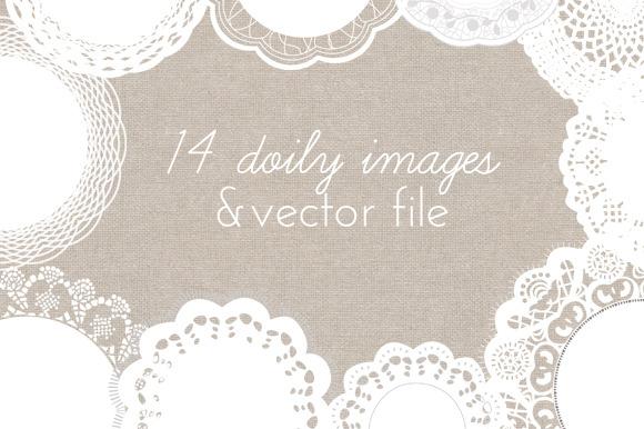 Doily Vector Doily Clip Art