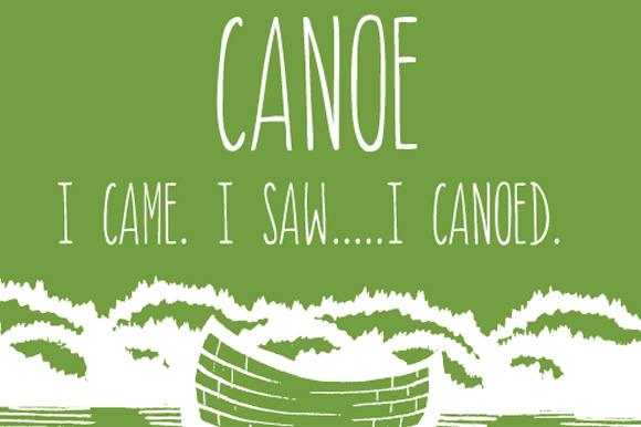 Canoe Font An All Caps Font