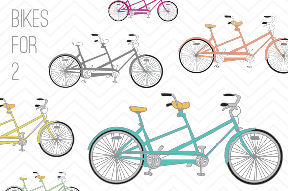 Bicycle Clip Art Bikes For 2