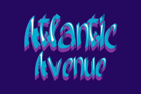 Atlantic Avenue Font