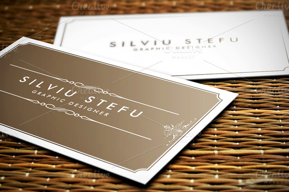 Business Card Mockups Pack 1