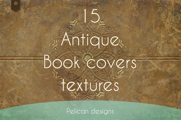 Antique Book Cover Textures