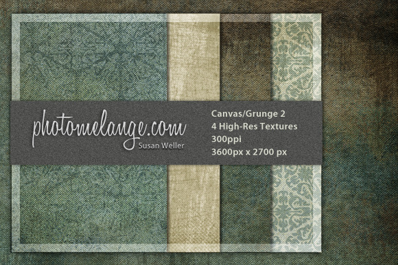 Grunge And Canvas Textures #2