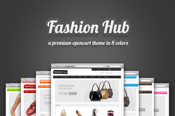 Fashion Hub Premium Opencart Theme