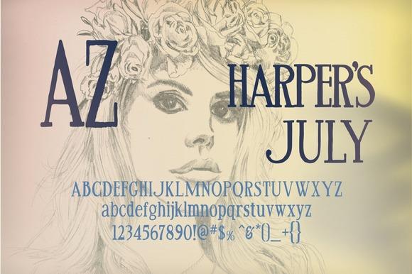 AZ Harper S July