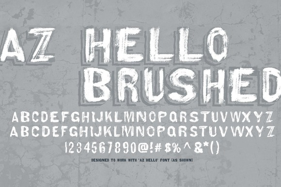AZ Hello Brushed