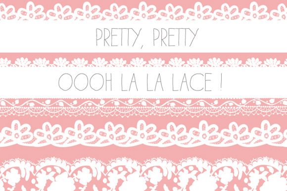 Lace Borders PNG Images