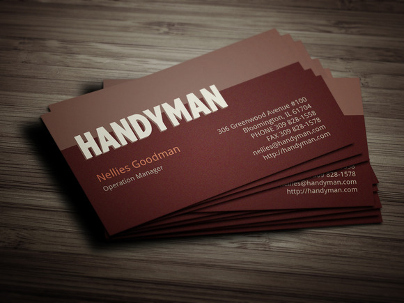 Handyman Toolkit Business Card