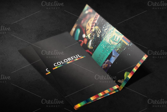 Tri Fold Brochure Mockup 02