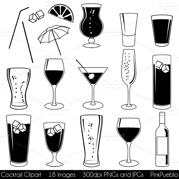 Cocktail Vectors