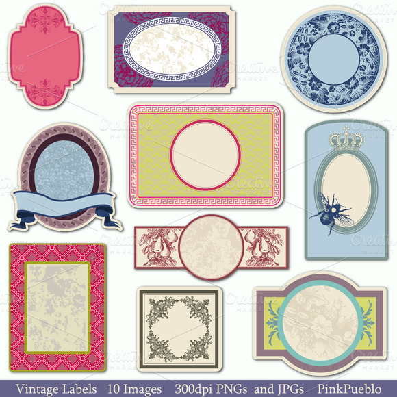 Vintage Tags Vectors And Clipart