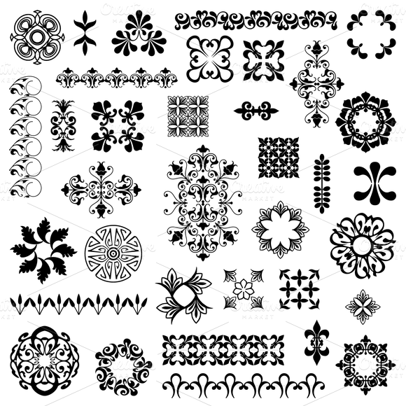 Design Elements 2 Vectors Clipart
