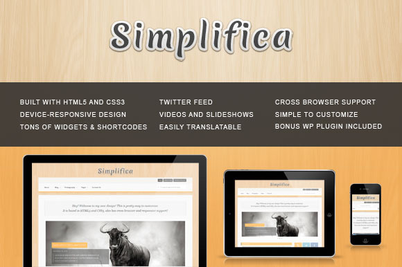 Simplifica Wordpress Theme