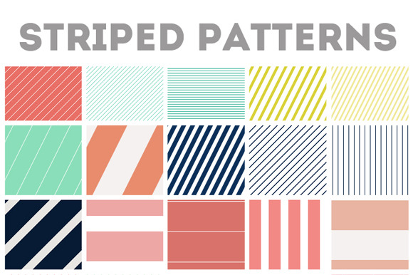 Repeating Stripe Images Patterns